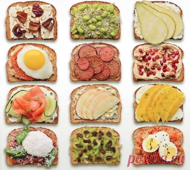 Ты в поиске идеального бутерброда? Тогда эти 8 рецептов для тебя! Неповторимый вкус. - Копилка идей