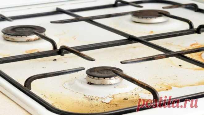 Самый необычный лайфхак, с которым плита почти не будет загрязнятся — Полезные советы