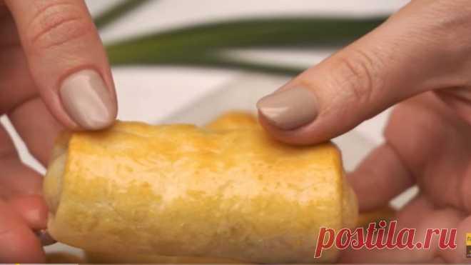 Вкуснее Не Бывает! Необычные пирожки с яйцом и зеленым луком