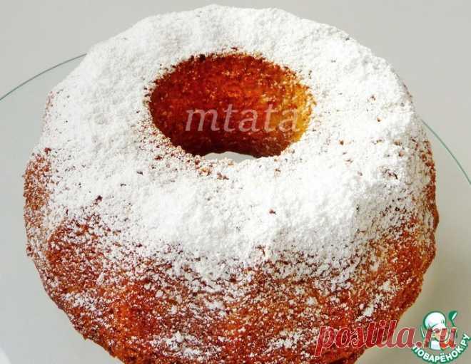 Кекс яблочный – кулинарный рецепт