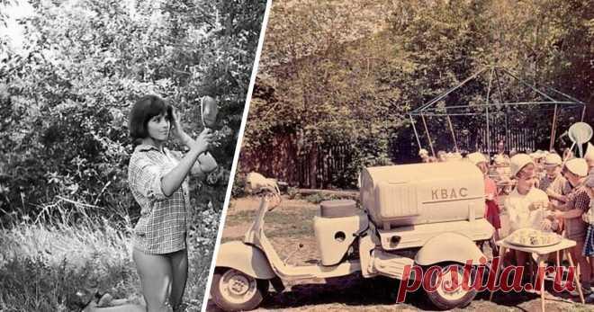 Теплые фотографии времен СССР, которые пробивают на ностальгию