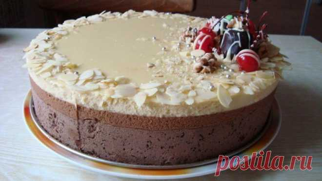 "Торт ""Три шоколада"" / livecookbook.ru"