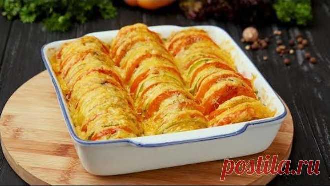 Кабачки, запеченные с помидорами - Рецепты от Со Вкусом