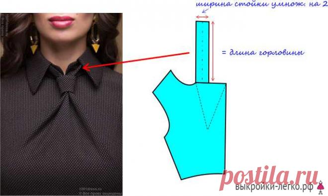 выкройка лифа платья с драпировкой галстук готовые выкройки и
