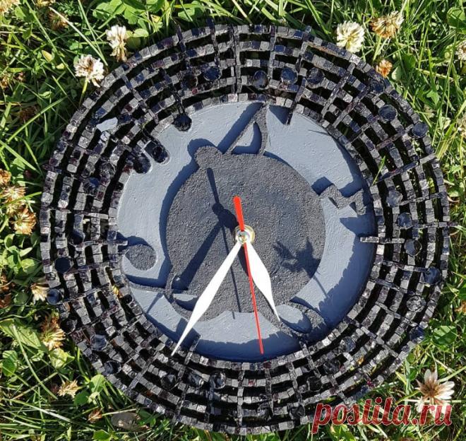 Мозаичные часы
