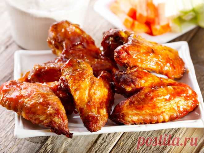 Как приготовить куриные крылышки в духовке рецепт с фото - Вторые блюда - Smak
