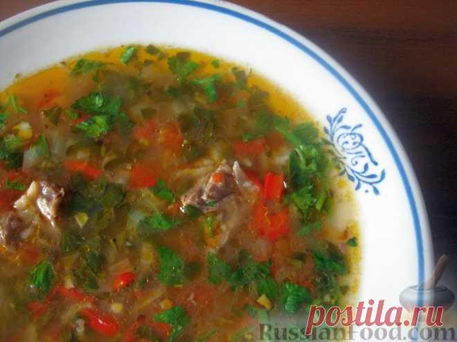 Харчо - традиционный грузинский суп