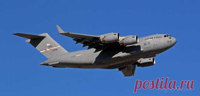 Фото Boeing Globemaster III (97-0048) - FlightAware