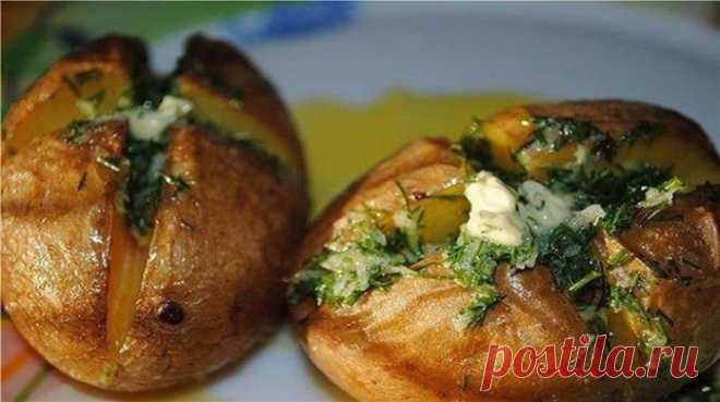 Ароматная печеная картошечка – устоять невозможно!!!!!!!