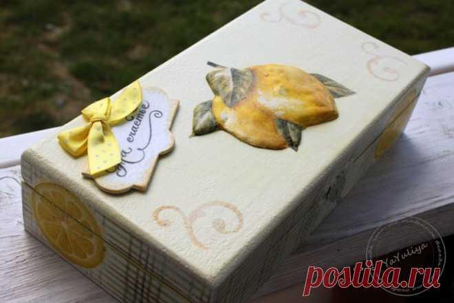 Создание объемных лимонов / Декупаж. Мастер-классы / PassionForum - мастер-классы по рукоделию