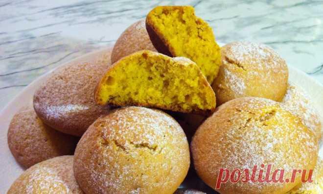 Побалуй нежным домашним овсяным печеньем с тыквой