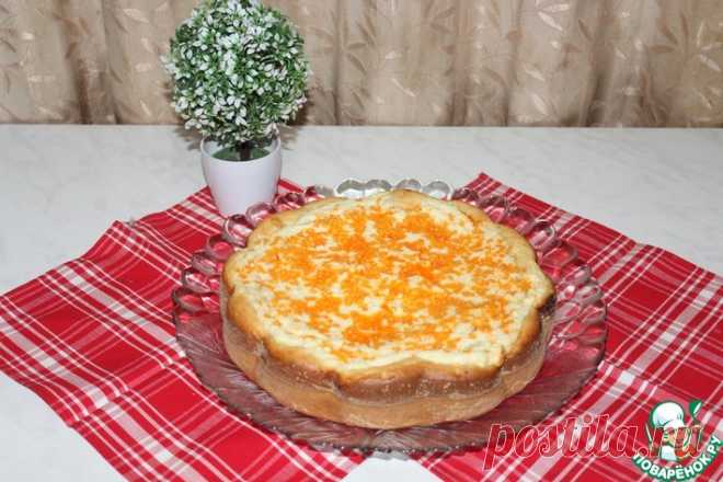 Пирог с творогом и шоколадом Кулинарный рецепт