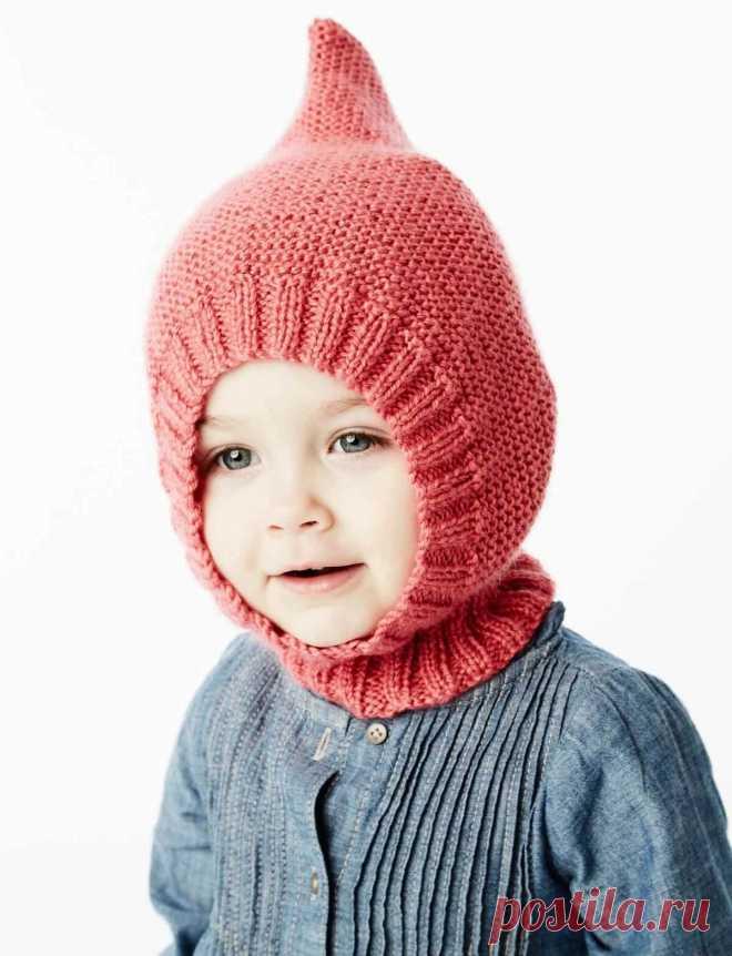 Шапка шлем для малышей спицами: 4 модели, схемы, описание, фото, видео мк