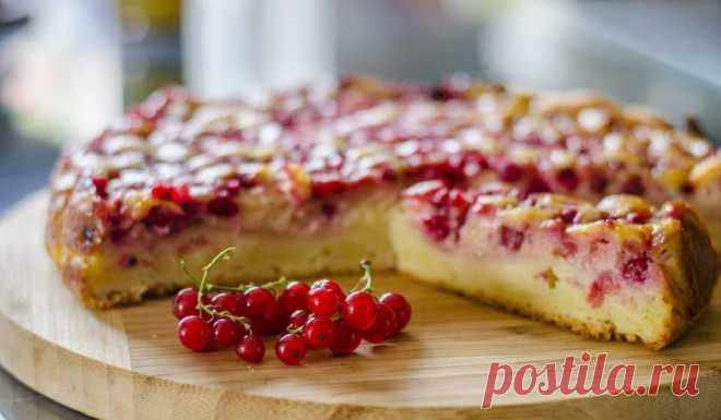 Как готовятся пироги со смородиной: 10 рецептов - Со Вкусом