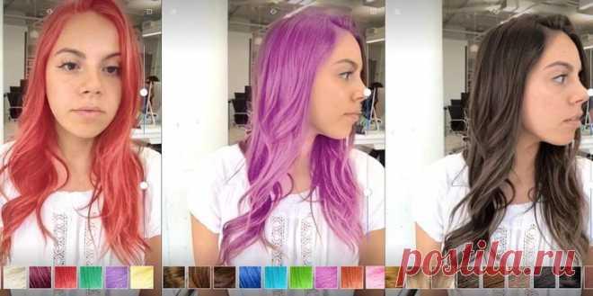 Онлайн подобрать цвет волос по фото: 8 приложений