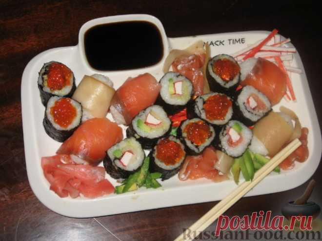 Роллы (суши-роллы) – блюдо японской кухни