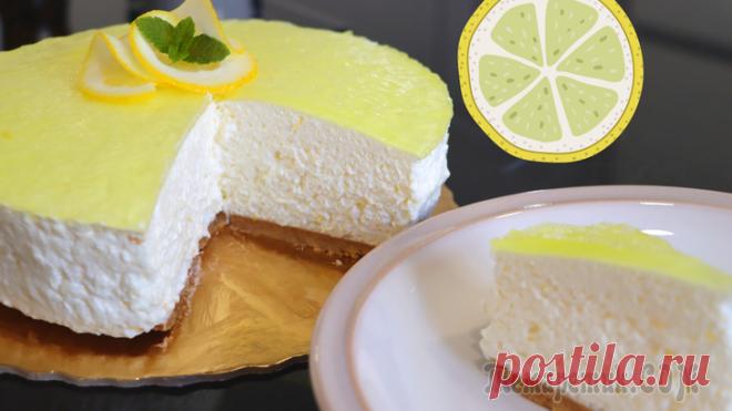 Невесомый муссовый торт без выпечки // Торт лимонный мусс Сегодня готовлю супер воздушный десерт без выпечки. Получается легкий, воздушный и не приторный. Печенье 150 гр Масло сливочное 75 гр Сливки 35% 370 мл Сахарная пудра 90 гр 3 белка Лимонный сок 55 мл ...