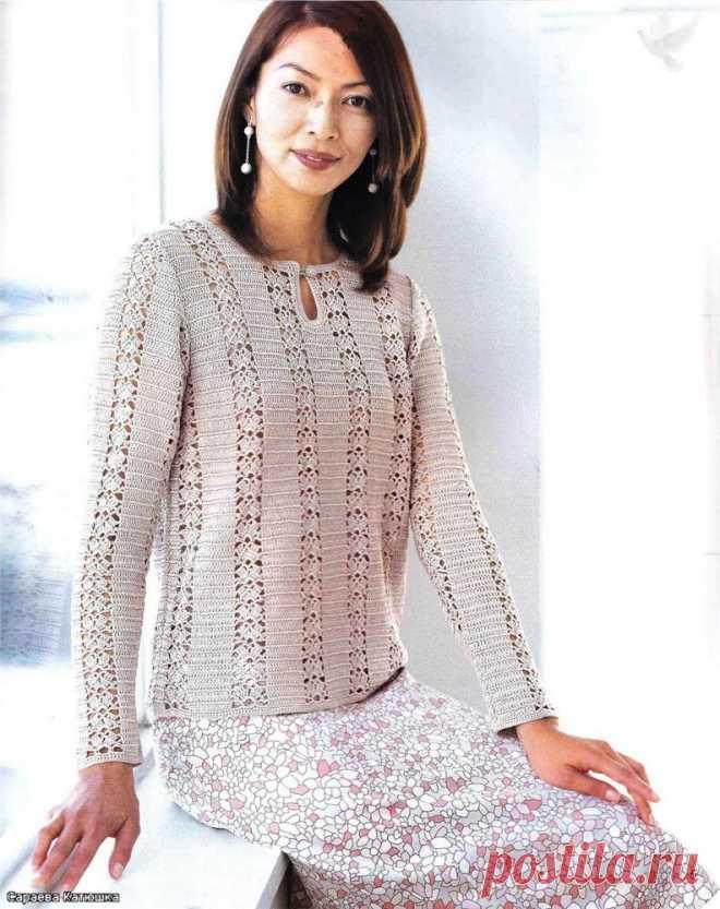 вязание спицами для женщин кардиган свитер 2012