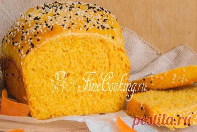 Морковный хлеб - рецепт