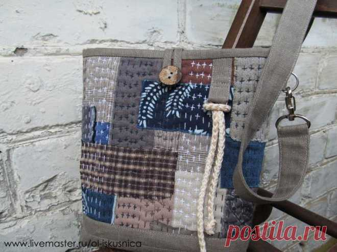 The Japanese bag from rags — Needlework