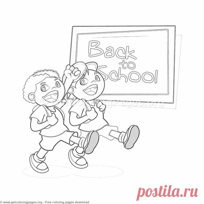 29 Back to School Coloring Pages – GetColoringPages.org