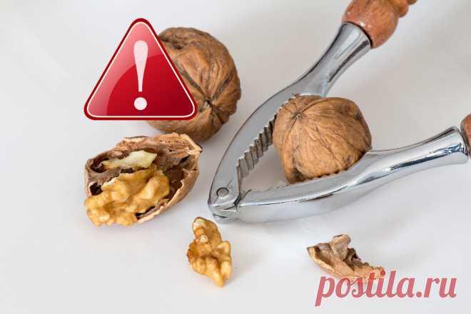 Грецкий орех: 5 основных побочных эффектов