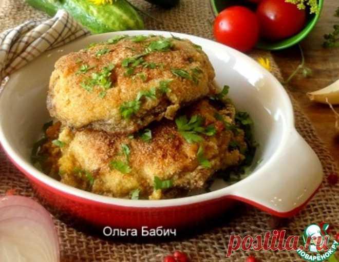 Грибной шницель – кулинарный рецепт