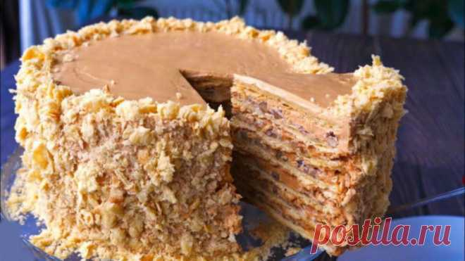 Для тех, кто любит Киевский торт: Торт «Наполеон