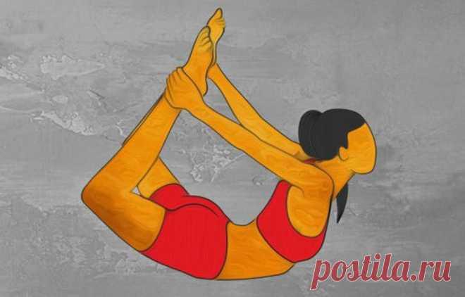 «ПОЗА ЛУКА»   5 других упражнений, которые БЫСТРО преобразят вашу ФИГУРУ!