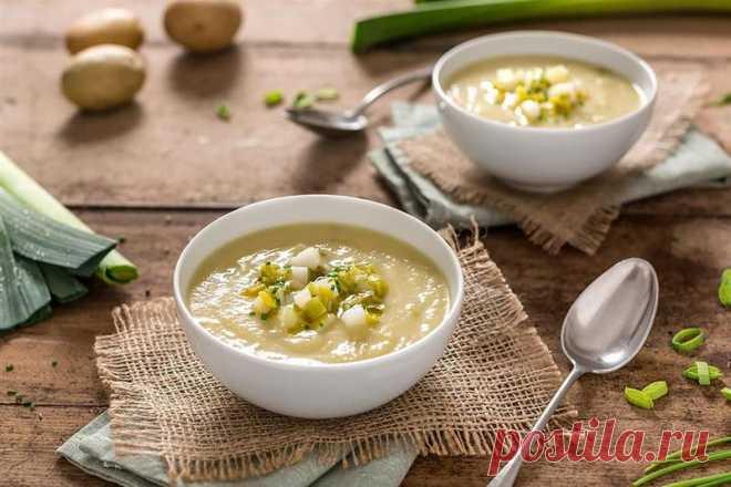 Чешский сытный картофельный суп — Вкусные рецепты