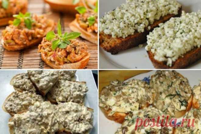 Двенадцать вкуснейших намазок на хлеб, которые утолят голод в два счёта