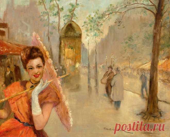 Женский образ в работах Пал Фрида.