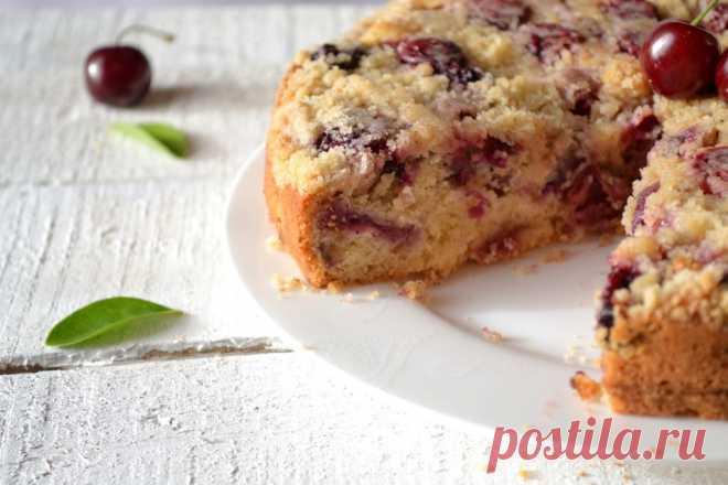 Великолепный вишневый пирог – все как мы любим