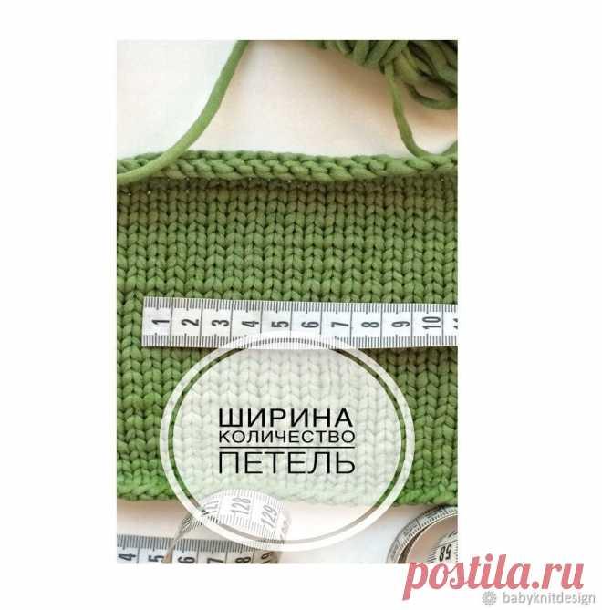 Вяжем спицами бесшовный свитер с круглой горловиной – Ярмарка Мастеров
