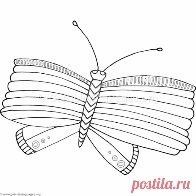 12 Fantasy Flower Butterfly Coloring Pages – GetColoringPages.org