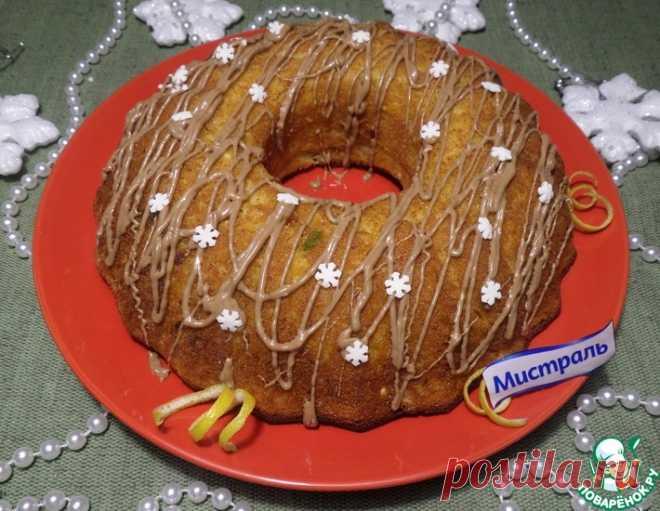 Творожно-лимонный кекс – кулинарный рецепт