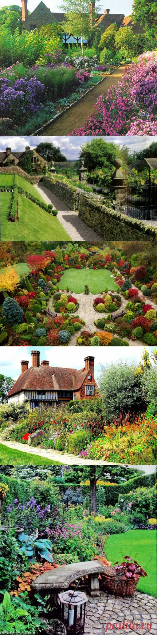 Национальные особенности садоводств. Английский сад. | МУЗА НАШЕГО ДВОРА