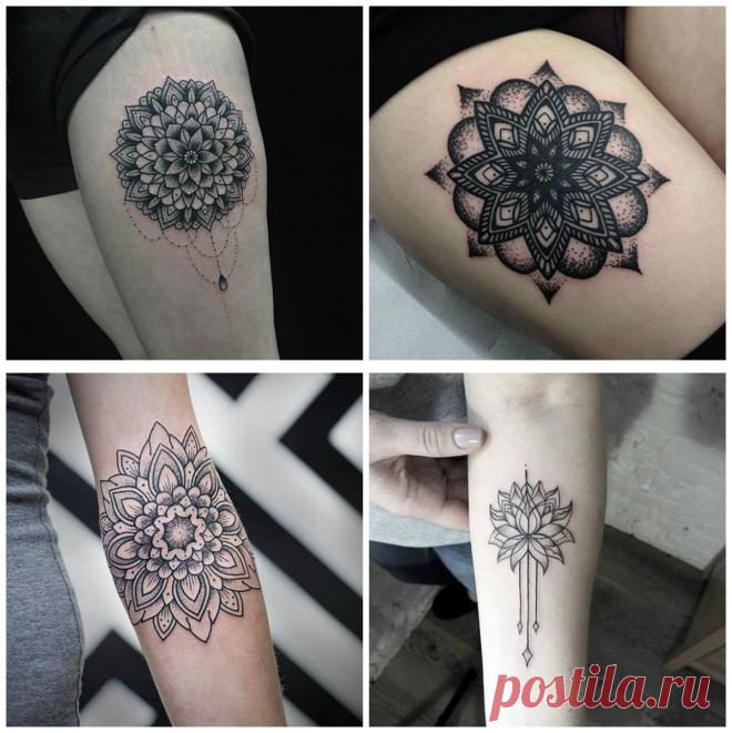 Tatuajes De Mandalas Los Increíbles Tatuajes De Mandala Para