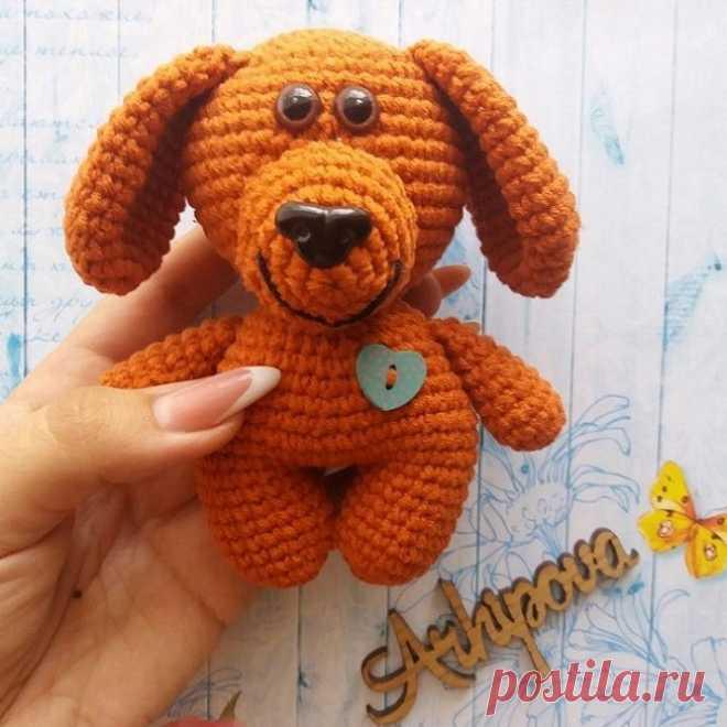 Собачка Малыш амигуруми: схема игрушки крючком | AmiguRoom