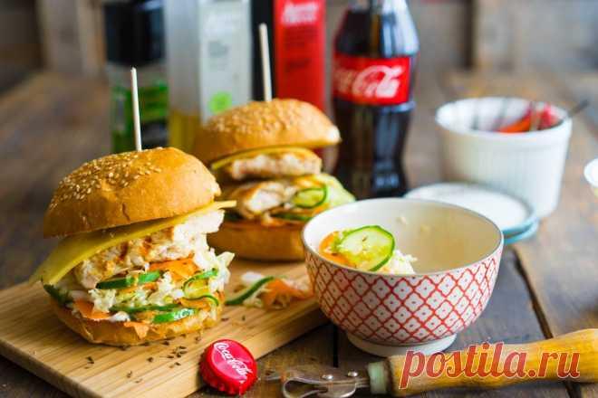 Гамбургер с курицей и сочной начинкой | Andy Chef (Энди Шеф) — блог о еде и путешествиях, пошаговые рецепты, интернет-магазин для кондитеров |