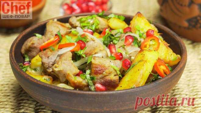 Оджахури. Грузинская кухня / Мясные блюда / Рецепты / Шеф-повар – простые и вкусные кулинарные рецепты, фото-рецепты, видео-рецепты
