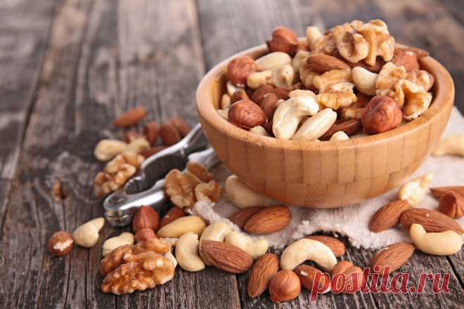 Как с помощью орехов не только сохранить, но и улучшить своё здоровье