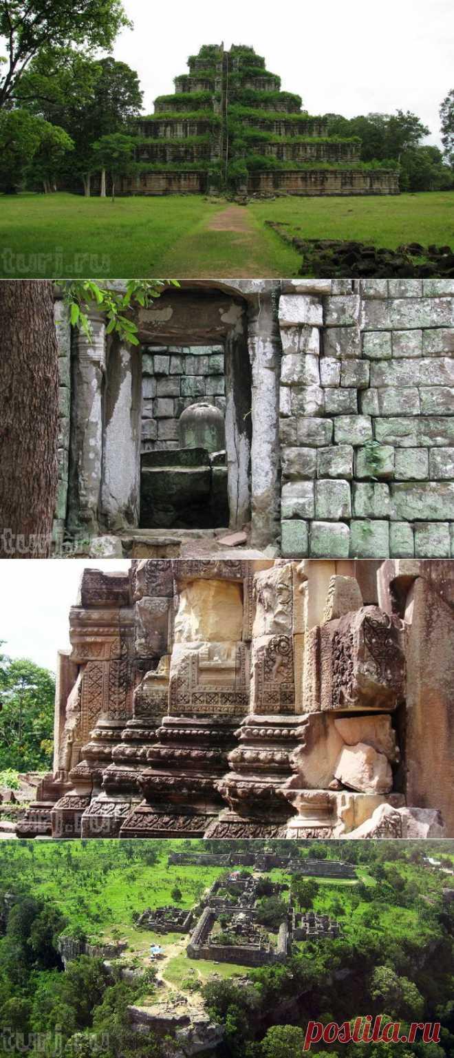 Камбоджа, Кох Кер: Тайна пирамиды  Прасат Тхом