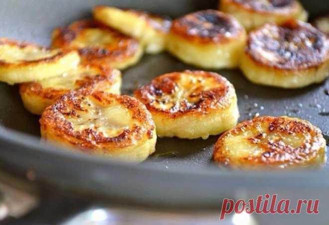 Чудеса и красота: Банановые сырники — супер вкусный завтрак!