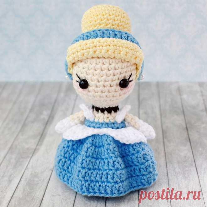 Кукла золушка крючком: схема вязания