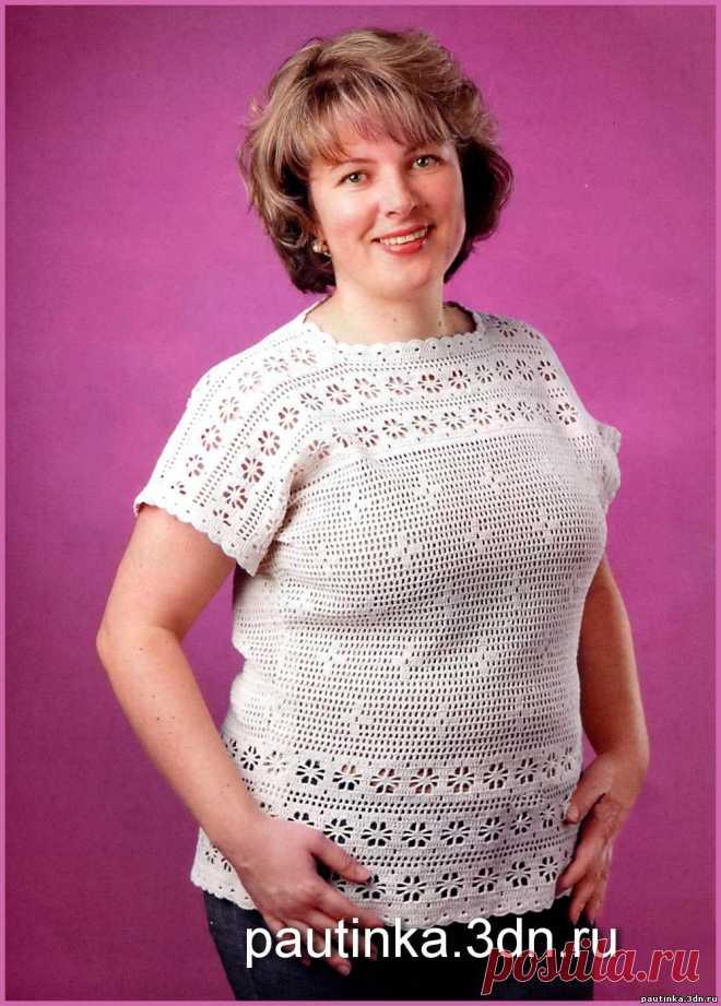 Схемы вязания женского большого размера