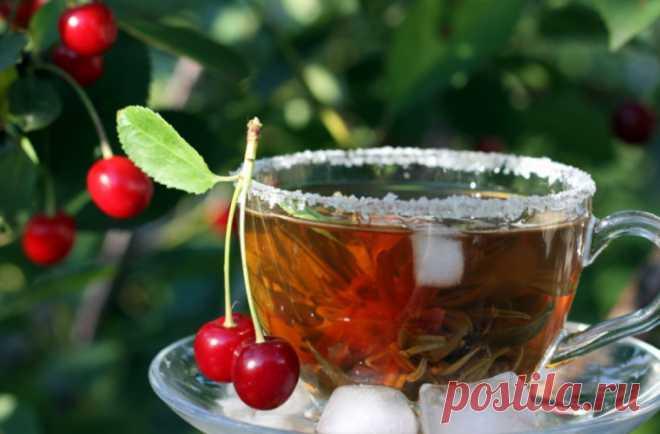 Чем полезен чай из плодоножек черешни