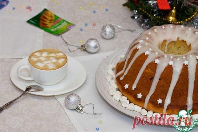 Творожно-дрожжевой кекс Кулинарный рецепт