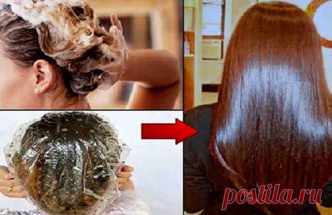 Приготовьте эту волшебную маску для волос, нанесите на 15 минут. Поразительный эффект! Прекрасные, здоровые волосы - это бесценное украшение женщины. Как часто мы относимся к этому богатству