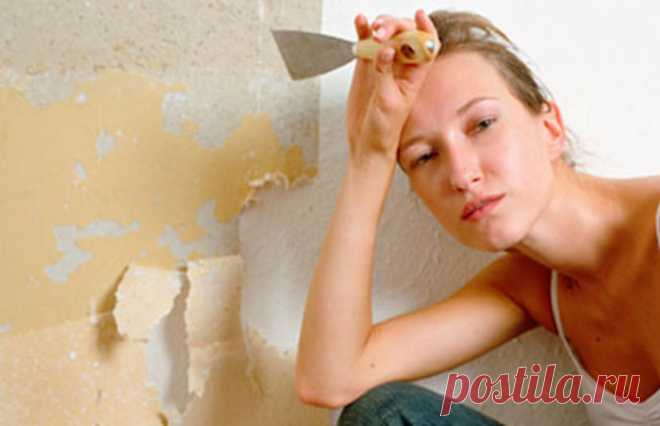 До безобразия простой способ, как снять даже «упрямые» обои со стен без малейшего следа
